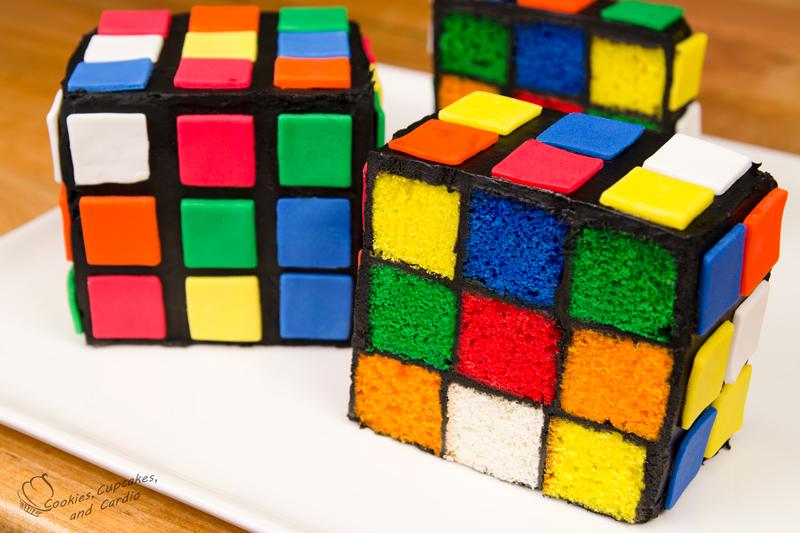 Cube World Cheese Cake