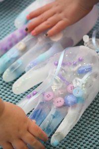 Elsa's Frozen Hands