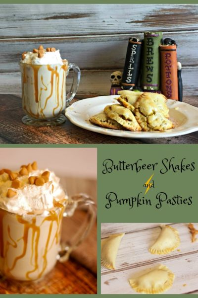 Butterbeer Shakes and Pumpkin Pasties