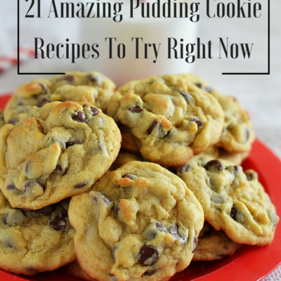 21 Amazing Pudding Cookies To Try Right Now!