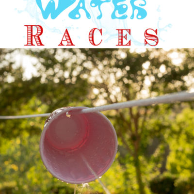 Squirt Gun Races Obstacle Course