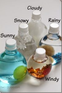 Weather Sensory Bottles