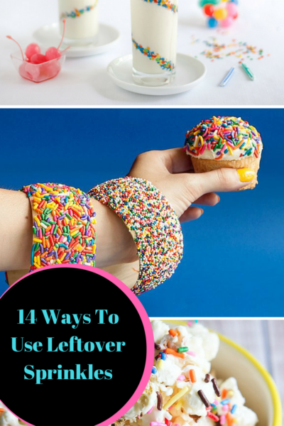 14 Ways To Use Leftover Sprinkles