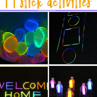11 Ultimate Glow Stick Activities