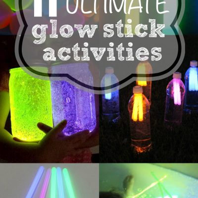 11 Ultimate Glow Stick Activities