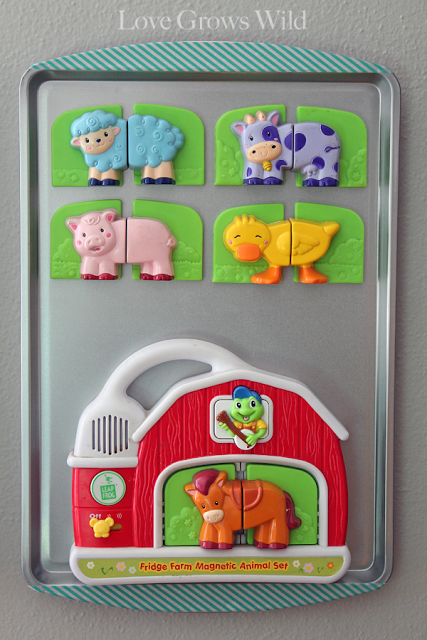 Baking Sheet Magnet Boards by Love Grows Wild 3
