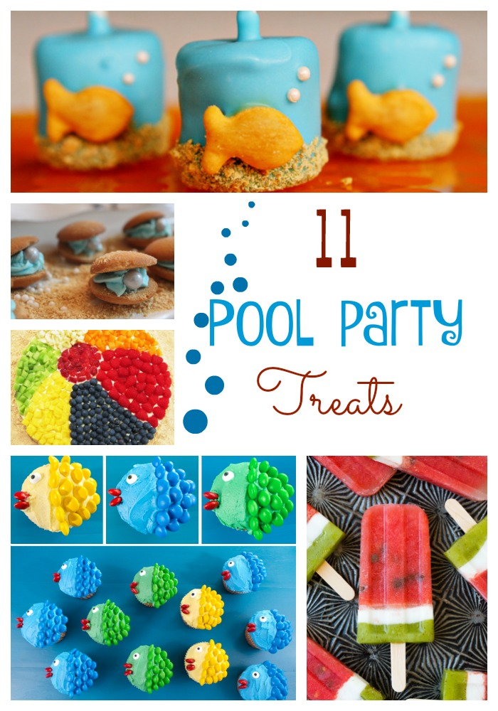 Before school starts why not throw a pool party to celebrate the summer! Already in school? Do you really need an excuse to play in the water? To make your last summer bash a blast, we've put together 11 Pool Party Treats to try!