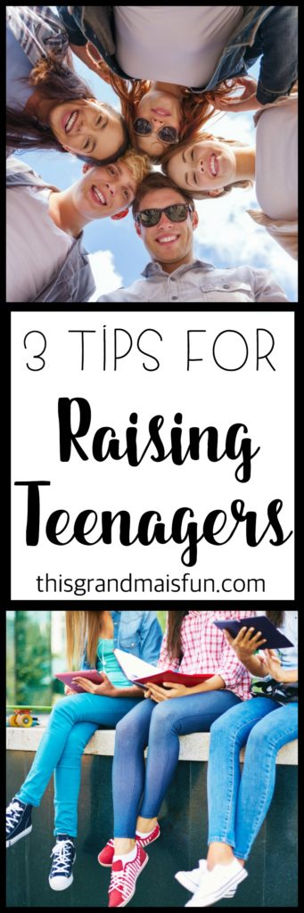 A grandma shares her three best tips for raising teenagers. Tip #3 gets her pretty steamed up. Come read what she has to say about it!