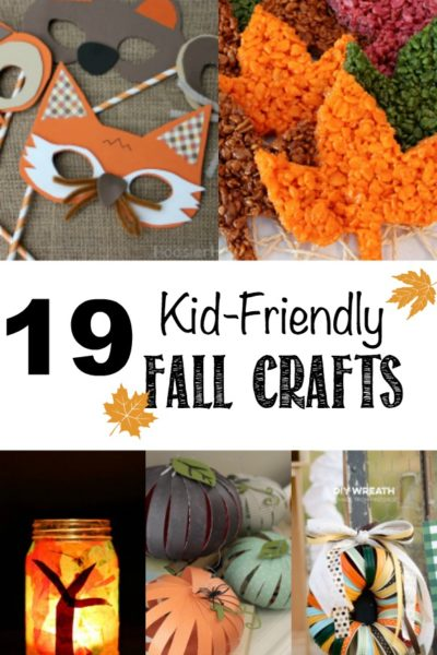 19 Kid-Friendly Fall Crafts