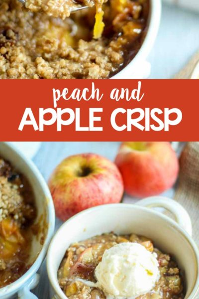 Peach Apple Crisp Recipe