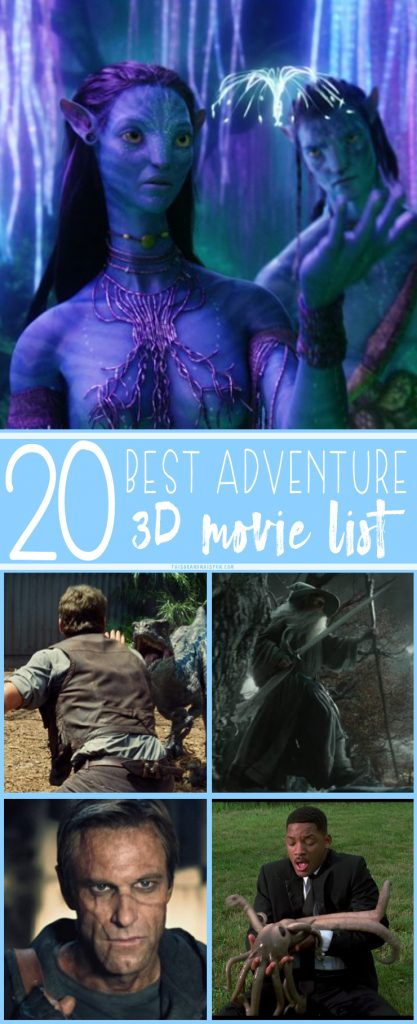 I don't know about you, but family movie night is one of my favorite nights! I love grabbing a bowl of popcorn, cuddling with my kids and turning on a good movie. But, if you're looking to add something special to your next family movie night, try a 3D movie! Check out this 20 best animated 3D movie list!