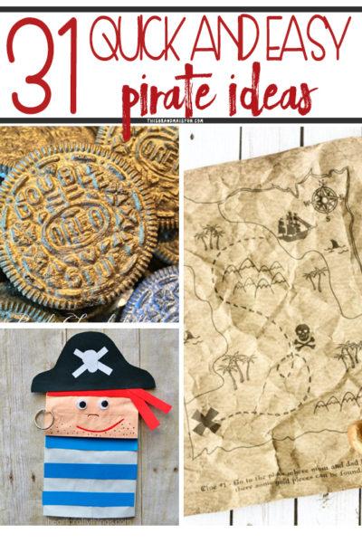31 Easy Pirate Ideas