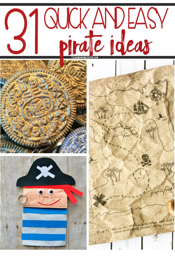31 Easy Pirate Ideas Tgif This Grandma Is Fun