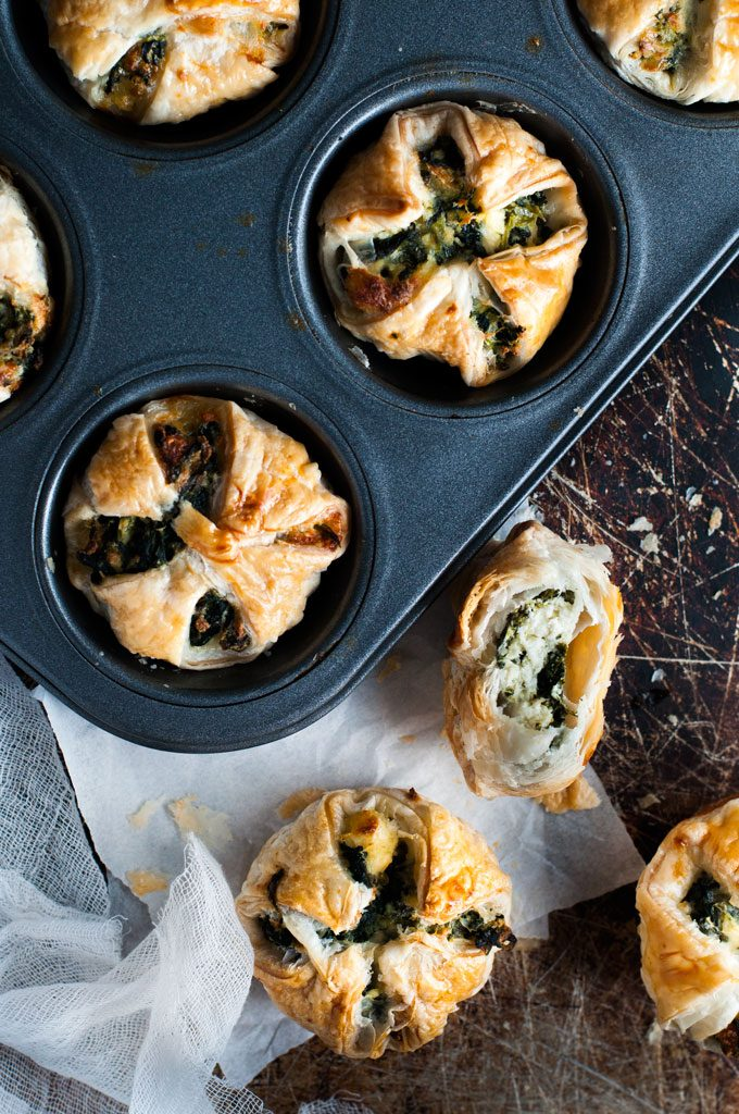 Cheese-Spinach-Puffs