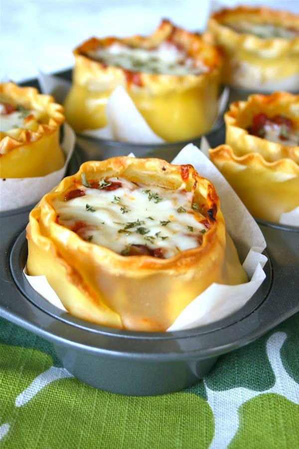 Lasagna-Cups