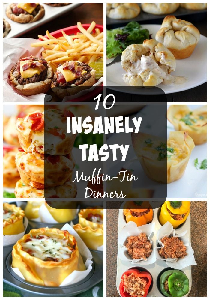 Everything tastes better when it is in a cute bite size muffin shape, am I right? Muffin-tins are magical. They help mix up the normal meal routine. So here is a list of 10 Insanely Tasty Muffin-Tin Dinners.