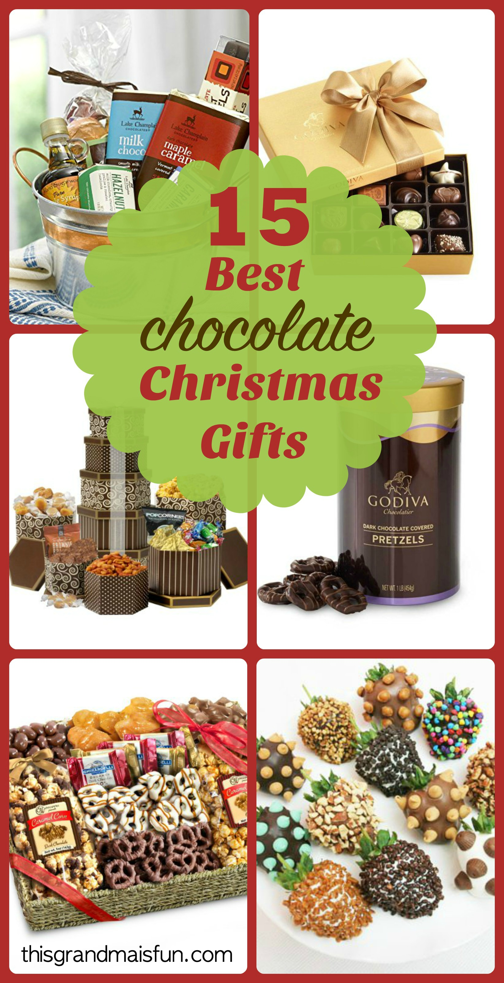15 Best Chocolate Christmas Gifts - TGIF - This Grandma is Fun