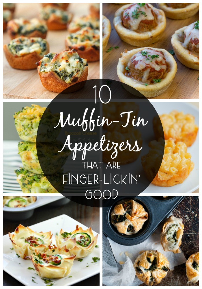These muffin-tin appetizers are perfect to impress your family and friends at the next get together, tailgate party, or birthday bash!