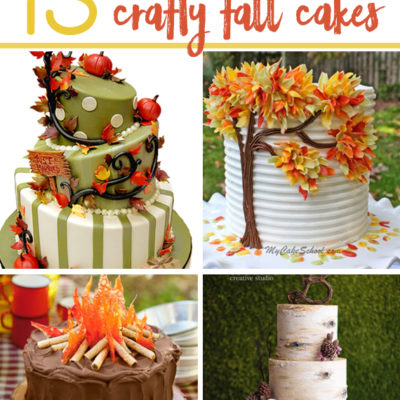 13 Crafty Fall Cakes