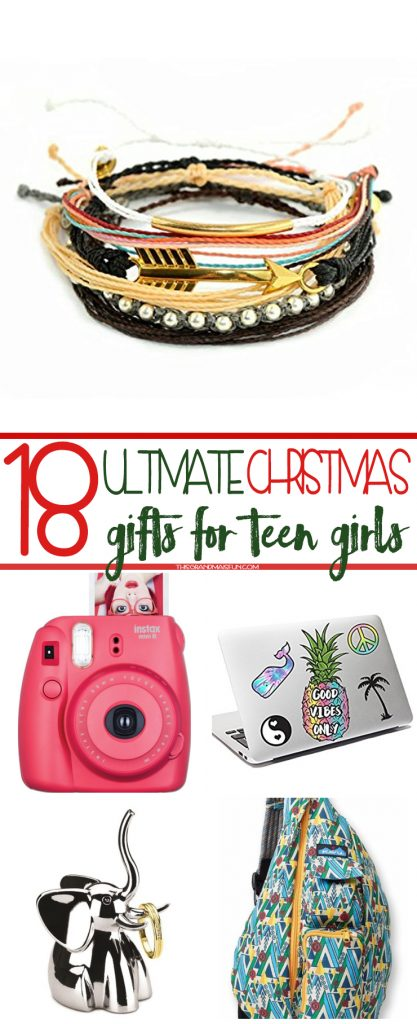 I love Christmas shopping! I love finding presents that I know will make my  loved - 18 Ultimate Christmas Gifts For Teen Girls - TGIF - This Grandma Is Fun