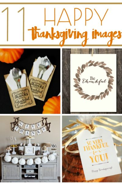 11 Happy Thanksgiving Images