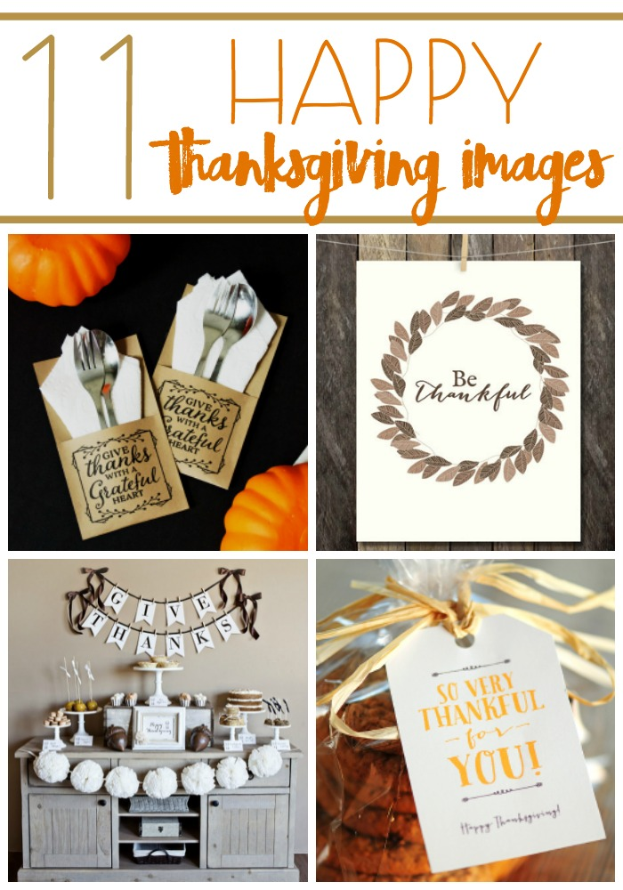 This season is the perfect time to decorate your home with one of 11 Happy Thanksgiving Images to remind you what Thanksgiving is all about!