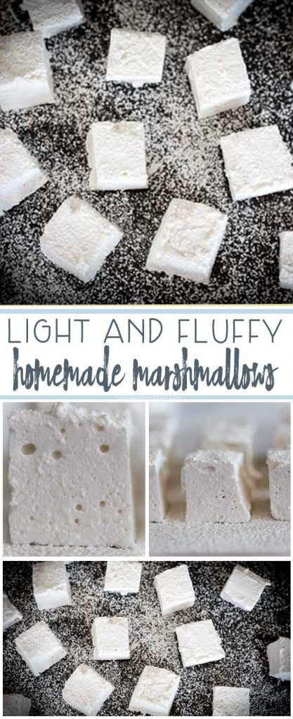 Winter is here and nothing is better than hot chocolate with marshmallows, except hot chocolate and some HOMEMADE MARSHMALLOWS! Easier make than you think, you are going to LOVE these.