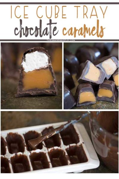 Ice Cube Tray Chocolate Caramels and a Clorox Giveaway!