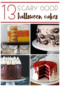 With the spookiest holiday fast approaching, there is nothing is better than cake to to brew up some fun! Check out these 13 Scary Good Halloween Cakes!