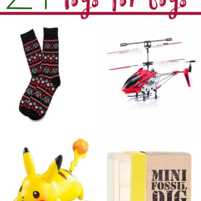 21 Brilliant Christmas Toys for Boys