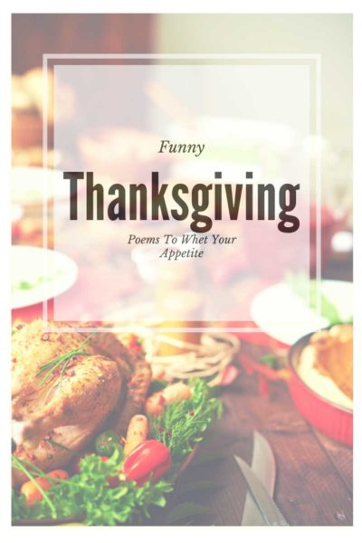 Funny Thanksgiving Poems to Whet Your Appetite