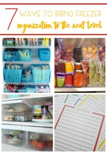 Is your freezer ever a serious mess and packed full? Use these 7 Ways To Bring Freezer Organization To The Next Level so you can actually find what you need.