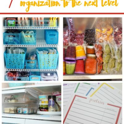7 Ways To Bring Freezer Organization To The Next Level