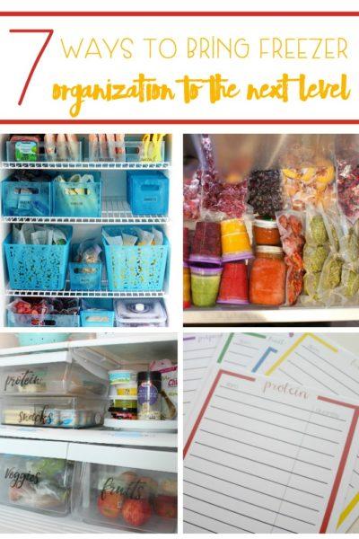 7 Ways To Bring Freezer Organization To The Next Level