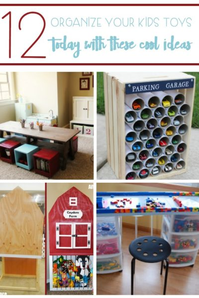 Organize Your Kids Toys TODAY With These 12 Cool Ideas