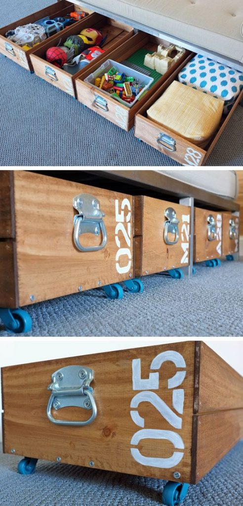 After today, you will no longer have sore feet from legos hiding viciously in the carpet! Organize Your Kids Toys TODAY With These 12 Cool Ideas