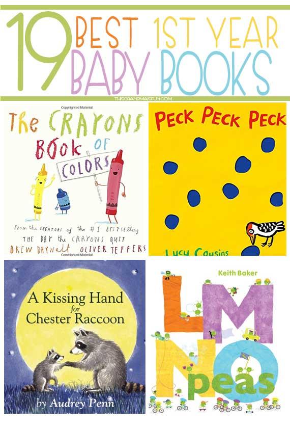 19 Best 1st Year Baby Books Tgif This Grandma Is Fun