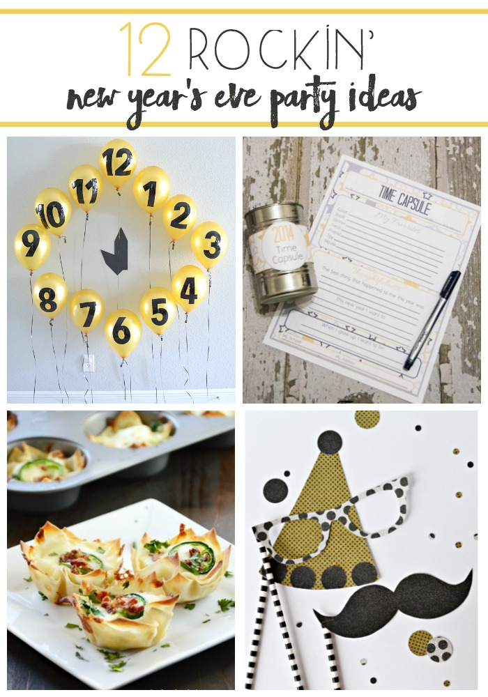 12 Rockin New Years Eve Party Ideas