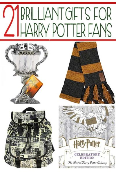 21 Essential Gifts for Harry Potter Fans