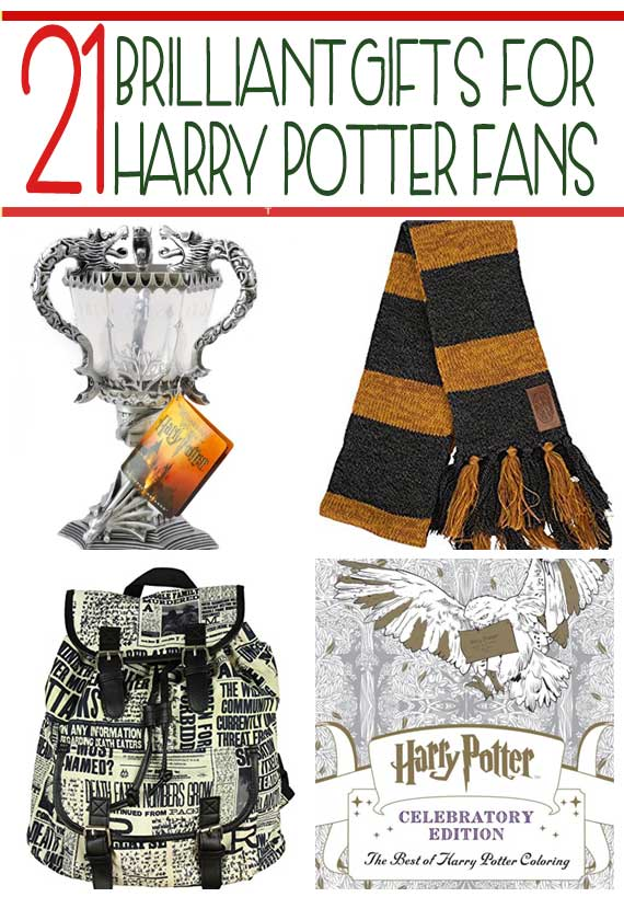 Harry Potter Christmas Gifts.21 Essential Gifts For Harry Potter Fans Tgif This