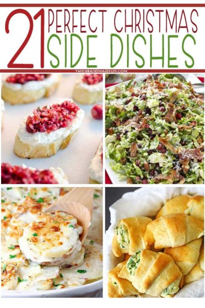 21 Perfect Christmas Side Dishes