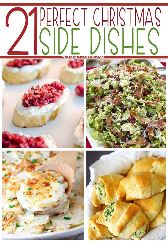 21 Perfect Christmas Side Dishes - TGIF
