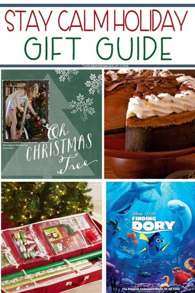 Stay Calm Holiday Gift Guide