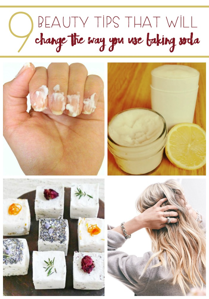 Treat yourself to a personal spa day in your own home! All because of baking soda. Try these 9 Beauty Tips That Will Change The Way You Use Baking Soda.