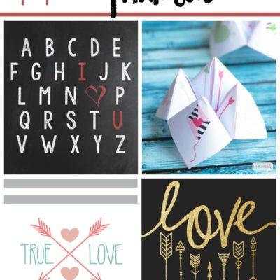 11 Lovely Valentine's Day Printables
