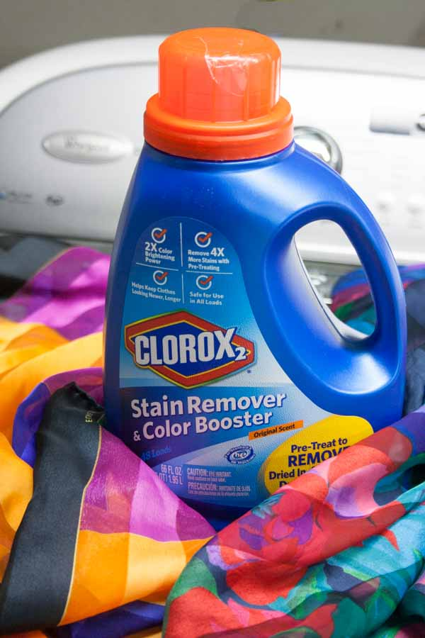 Keep your memories bright with Clorox 2 Stain Remover and Color Booster