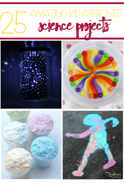 25 Amazing Kid-Approved Science Projects