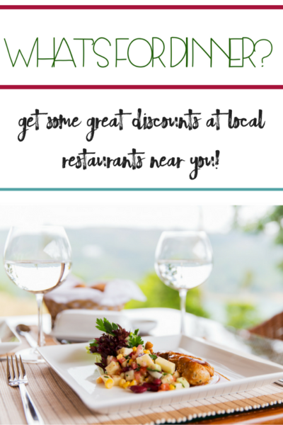 Restaurant discounts for AARP Members