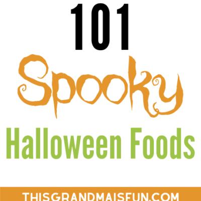 101 Spooky Halloween Foods