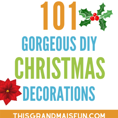 101 Gorgeous DIY Christmas Decorations